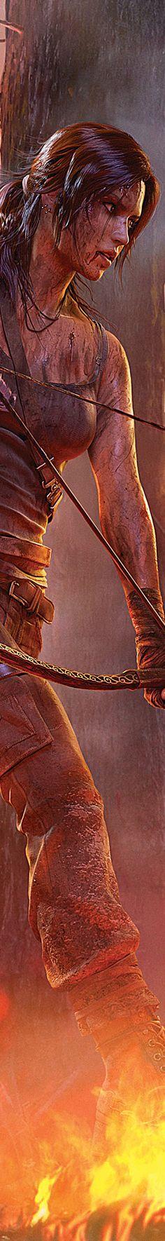Tomb Raider:  All New Lara Croft ~ #Tomb #Raider 2013.                                                                                                                                                                                 More