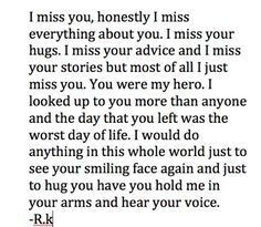 Daddy I Miss You, You Are My Hero, I Love Mom, Death Quotes, Me Quotes, Missing Mom In Heaven, Granny Quotes, Remembering Dad, Anniversary Quotes