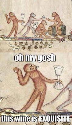 drunken monkey in ancient times ! humor - Monkeys Funny - drunken monkey in ancient times ! humor Monkeys Funny drunken monkey in ancient times ! humor The pos The post drunken monkey in ancient times ! humor appeared first on Gag Dad. Renaissance Memes, Medieval Memes, Stupid Funny Memes, Funny Humor, Hilarious, Nerd Humor, Art History Memes, Classic Memes, Classical Art Memes