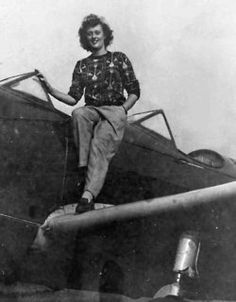 In 1944, eighteen-year-old Patricia Wilson did her part for the war effort. Her part was to fly a plane for the Civil Air Defense in Philadelphia. Only 18, not only would she fly patrols around the city but also, in an act of incredible bravery or insanity, would drag target banners across the sky for antiaircraft gunners to practice.