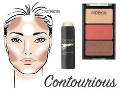Catrice Cosmetics Contourious Limited Edition - Jolien Nathalie