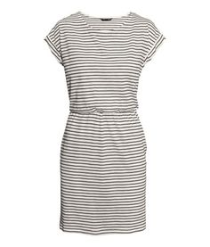 Short-sleeved Jersey Dress | Product Detail | H&M