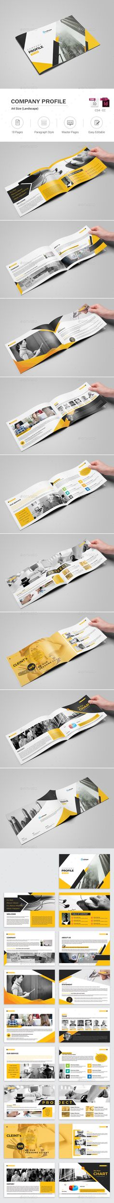 Company Profile Company profile, Corporate brochure and Brochure - company profile templates