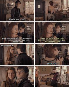 Gina Harry Potter, Mundo Harry Potter, Harry And Ginny, Harry Potter Memes, Gina Weasley, Desenhos Harry Potter, Films, Movies, Hermione