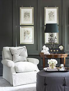 Grey corner