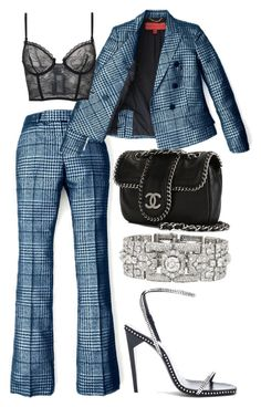 """Untitled #1964"" by xopis0n ❤ liked on Polyvore featuring Yves Saint Laurent and Chanel"