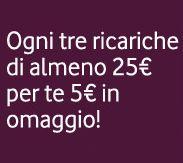 5€ di ricarica omaggio con Vodafone from DimmiCosaCerchi.it - Campioni gratuiti, Concorsi a premi, Metodi per guadagnare, Buoni sconto