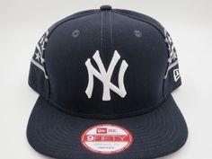 NY Yankees Blue Throwback New Era 9FIFTY Custom MLB Stars Snapback Hat Cap   NewEra   2667f35e55c1