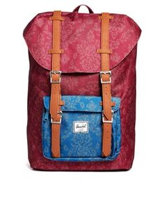 Enlarge Herschel Little America Backpack in Floral Tapestry Print