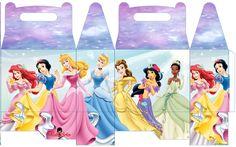 Disney Princesses FREE printable lunch box