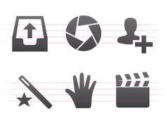 IconDock's Rocky vector icon set All Icon, Icon Set, Minimalist Icons, Icon Design, Templates, My Love, Prints, Art, Clean Lines