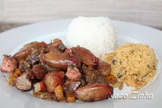 Entrevero de pinhão - NacoZinha - Blog de culinária, gastronomia e flores - Gina
