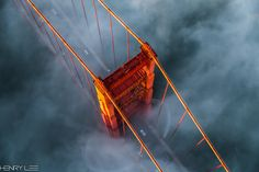 Photograph Above the GGB by Henry Lee on 500px