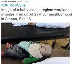 Syrian Network snhr child died