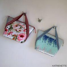 Mathilda II: Summer and Shine Bling Bling, Handbags, Tote Bag, Wallet, Sewing, Fabric, Summer, Pattern, Labels