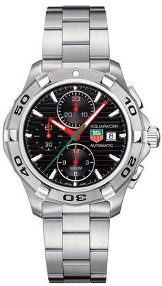 TAG Heuer Watch Aquaracer Automatic Chronograph #bezel-fixed…