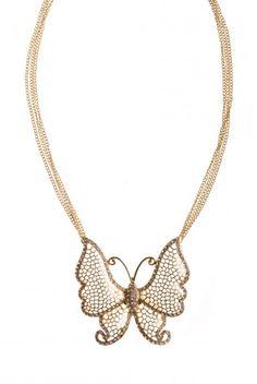 Type 1 Flirty Butterfly Necklace