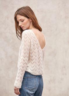 sweet sweater tout en dentelle??