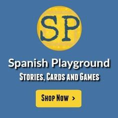 Mar Y Tierra . Game Spanish Playground Digital Downloads