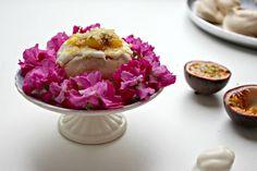Mango and passionfruit mini-pavlovas. Banquet, Dessert, Around The Corner, Wedding Dj, Corporate Events, Photo Booth, Tea Time, Birthday Parties, Mango