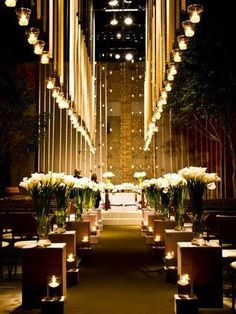 Ideas wedding church aisle candles ceremony decorations for 2019 - Wedding Church Aisle, Church Wedding Decorations, Ceremony Decorations, Wedding Ceremony, Wedding Centerpieces, Church Candles, Beautiful Candles, Weddings, Wedding Flowers