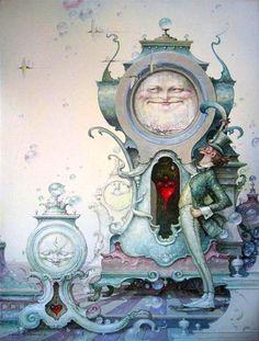 """All the Time in the World"" ~ Daniel Merriam ~ Watercolorist Extraordinaire ~ Miks' Pics ""Daniel Merriam ll"" board @ http://www.pinterest.com/msmgish/daniel-merriam-ll/"