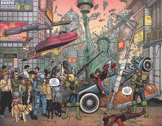 Cover Judge Dredd - Mega City Zero #1 by by Paul Hanley. Comic in store December 2015