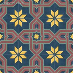 Cement Tile Shop - Handmade Cement Tile | Arabesque