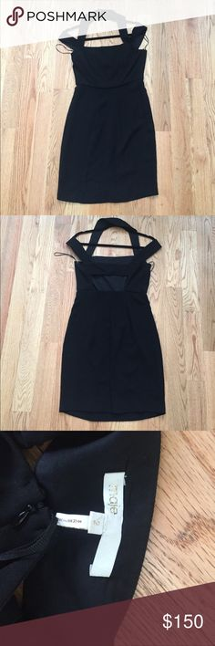 Perfect Little Black Dress!!!! EUC Maje black dress SIZE 2! This has been worn ONCE! Perfect for any event! Maje Dresses Mini