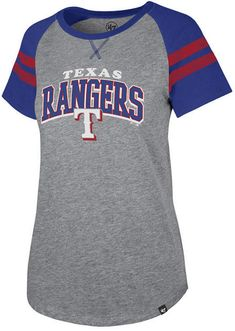 499c1f3a789  47 Women Texas Rangers Flyout T-Shirt Texas Rangers Shirts