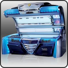 Own a tanning salon! Maybe a mobile spray service. Really want an indoor virtual beach, but that might be pushing it ; Best Tanning Lotion, Best Lotion, Tanning Tips, Basement Workout Room, Solarium Room, Alhambra Water, How To Tan, Tanning Booth, Salons