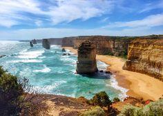 https://flic.kr/p/k9Z46u | Twelve Apostles - Great Ocean Road, entre Melbourne et Adélaïde.
