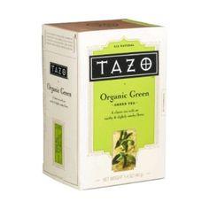 Tazo Tea Bags Organic Green Tea ( 20ct Box): This organic pan-fired green tea offers a rich and earthy taste.