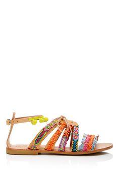 [PRE-ORDER] Elina Linardaki Hula Hoop Handmade Sandal