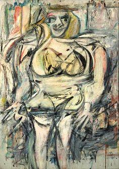 Willem de Kooning (1904-1997)  In november 2006 werd 137,5 miljoen dollar betaald voor Woman III