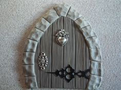 polymer clay fairy door - Google Search