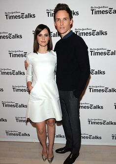 Felicity Jones + Eddie Redmayne