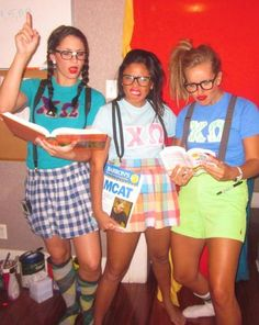 Chi Omega Skit Day outfits