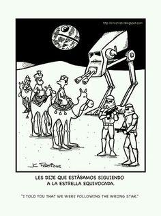 Tres Reyes Magos + Star Wars