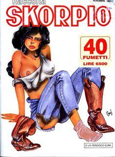 Fumetti EDITORIALE AUREA, Collana SKORPIO RACCOLTA n°252 - NOVEMBRE 1995