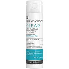 Paulas Choice CLEAR Regular Strength AntiRedness Exfoliating Solution with 2 BHA Salicylic Acid for Moderate Acne  4 oz *** Read more reviews of the product by visiting the link on the image.