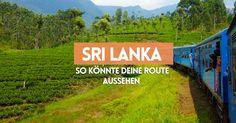 Ein Routenvorschlag für 4 Wochen Urlaub in Sri Lanka. Es ist so ziemlich alles dabei: Kultur, Tiere und natürlich Strand!