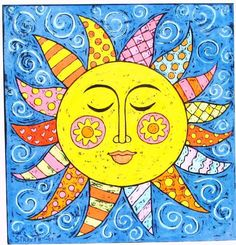 Sun painting, sun art и sun designs. Sun Moon Stars, Sun And Stars, Image Clipart, Art Clipart, Sol Mandala, Sun Drawing, Sun Painting, Good Day Sunshine, 5th Grade Art