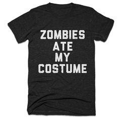 Halloween Shirt  Funny Halloween Shirt  Zombies by BasementShirts