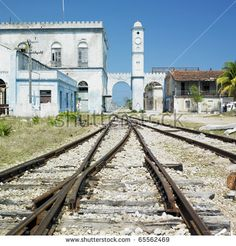 Cardenas railway station (Cuba). On: shutterstock