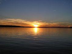 lake gaston sunsets