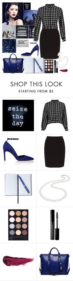 """Ravenclaw  ~ founders"" by nerdyquirkystyle ❤ liked on Polyvore featuring GET LOST, Oliver Gal Artist Co., Diane Von Furstenberg, Zhenzi, Smythson, Nadri, Le Métier de Beauté and By Terry"