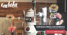 El buen tiempo nos invita a venir a emboka, terracita, cervecita fresca... This is Murcia ;) ¡Os esperamos! Te esperamos en La Flota, Reservas: 968241668