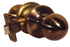 Atlas Antique Brass Ball Passage Knob $7.97