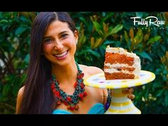 FullyRaw Rainbow Cake for My Birthday! - YouTube